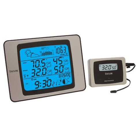 Taylor USA | Wireless Digital Indoor/Outdoor Thermometer ...
