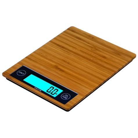 Digital Bamboo Kitchen Scale