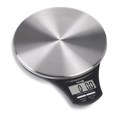 Genial Stainless Steel Digital Kitchen Scale