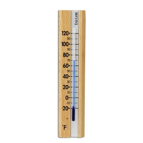 Taylor USA | Indoor Wooden Wall Thermometer - Thermometers ...