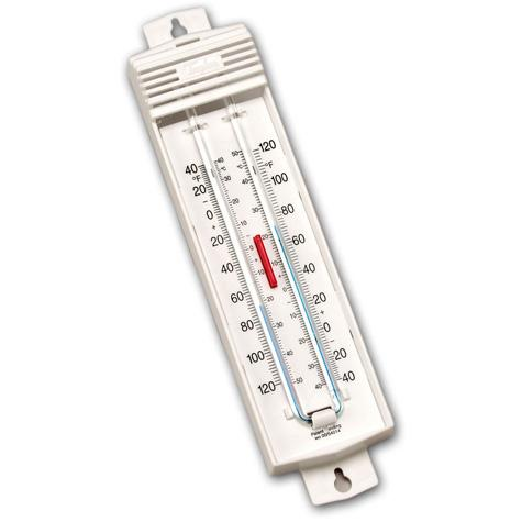taylor usa indoor outdoor minimum maximum thermometer thermometers restaurant hospitality. Black Bedroom Furniture Sets. Home Design Ideas