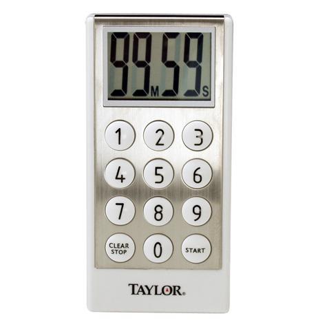 Taylor USA | Taylor® 10 Key Style Digital Timer