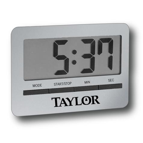 Taylor USA | Taylor® Big Readout Digital Timer with Clock ...