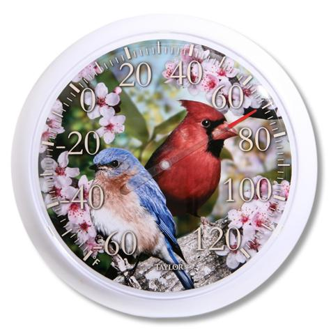 Cardinal/Bunting Thermometer