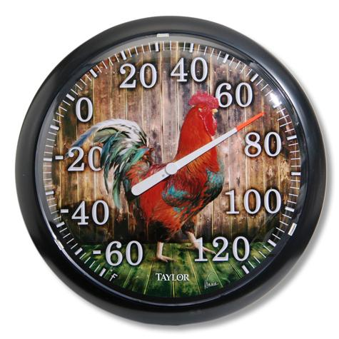 Rooster Thermometer