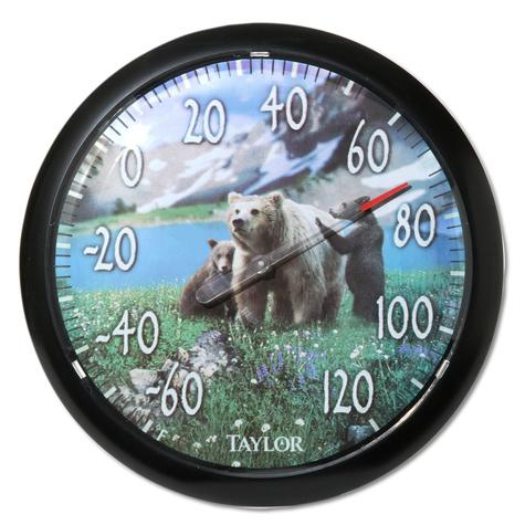 Mountain Bear Thermometer