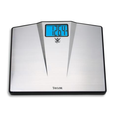 The Biggest Loser® Stainless Steel Electronic Scale with High Capacity