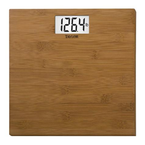Bamboo Electronic Scale