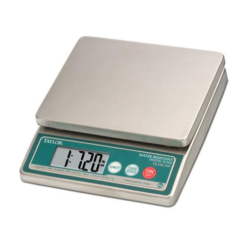 Water Resistant Digital 10 lb Portion Control Scale